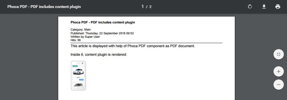 Pdf Module For Joomla 2.5