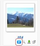Phoca Gallery Parameters - Start Cooliris Button