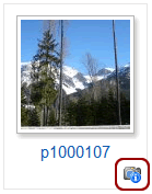 Phoca Gallery Parameters - Display EXIF