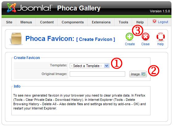 Phoca Favicon