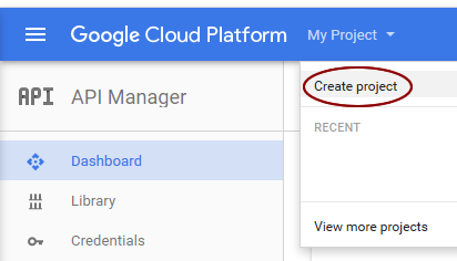 create google map api key