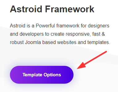 Phoca Cart - Astroid Template - Options