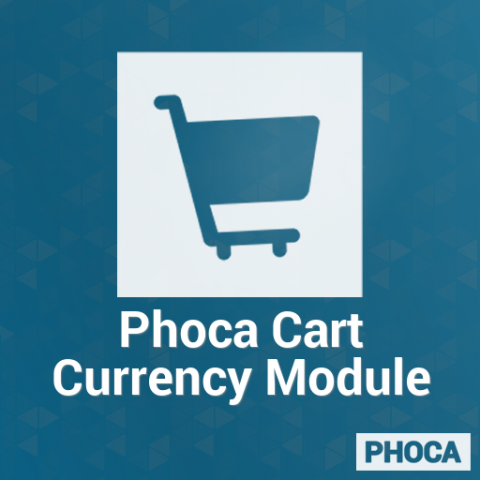 Phoca Cart Currency Module