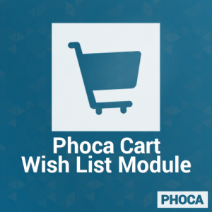 Phoca Cart Wish List Module