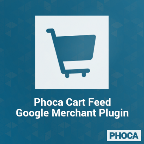 Phoca Cart Feed Google Merchant Plugin