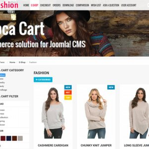 Phoca Fashion Template