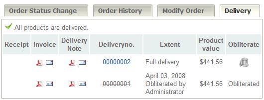 documents, Invoice examples